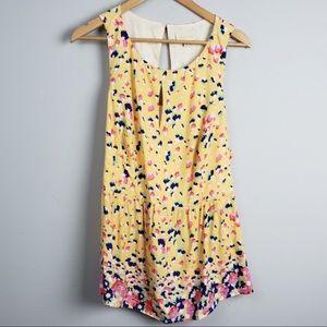 Modcloth Womens Top Plus Size 1X Yellow Tank Shirt
